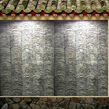 中式瓦片墙 210x165x15mm