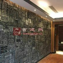 造型瓦新中式创意背景墙瓦片青瓦装饰拼花小灰瓦仿古洋瓦龙荼新品