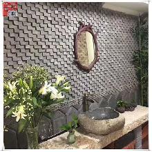 马赛克青砖仿古砖百年老砖装饰立体背景墙中式文化砖背景装饰新款