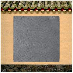 缎纹青石地砖