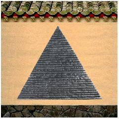 三角型缎纹青石