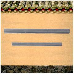 双圆角砖线条