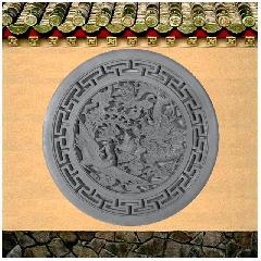 龙凤呈祥砖雕