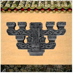 斗拱仿古砖雕