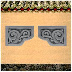砖雕挂件角花