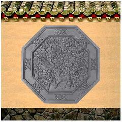 砖雕浮雕挂件福禄寿喜仿古影壁照壁背景墙