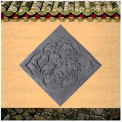 砖雕浮雕金玉满堂仿古影壁照壁背景墙装饰