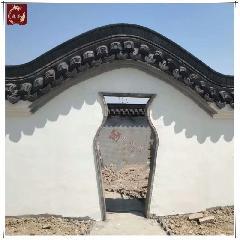 砖细门套,青砖门套线,花瓶拱门,中式庭院门洞