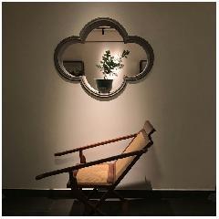 海棠砖细窗套中式庭院围墙异型青砖造型窗套线苏州园林