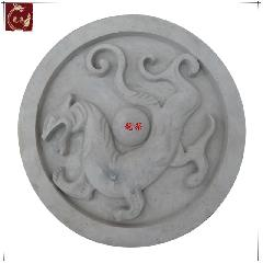 青龙白虎朱雀玄武四大神兽图青砖雕刻墙饰品风水墙中国四象之白虎