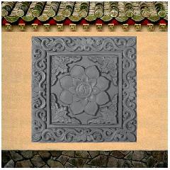 砖雕地砖太极莲 影视城地面砖 仿古青砖地砖花砖龙荼古建墙地砖厂