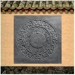 砖雕墙地砖唐莲花砖地砖墙面砖中式简约仿古青砖龙荼古建墙地砖厂