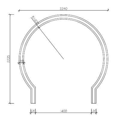 异型青砖圆形拱门月亮门中式庭院个性化月洞门苏州园林龙荼砖窑厂