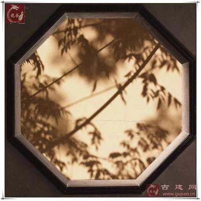 海棠砖细窗套