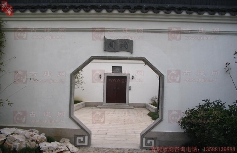 青砖异型门套窗套
