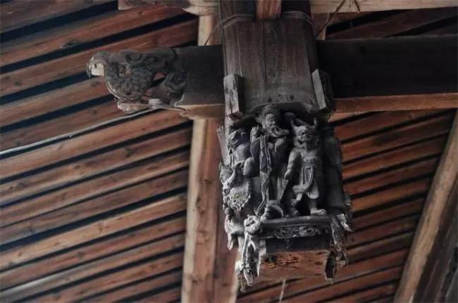 中国古建筑之垂花柱