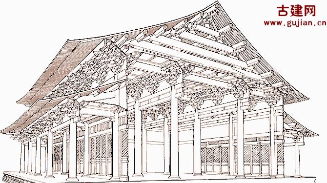中国古代建筑的特点