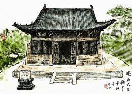 """山西:阳曲县我国古代独有的""""无梁减柱""""建筑特色"""