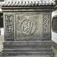 四合院砖雕影壁的分类及其作用