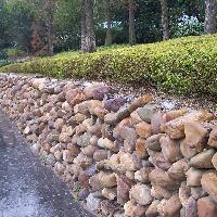 园林挡土墙五大设计形式