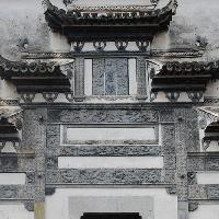 徽派建筑结构格式
