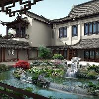 中国古建筑雕刻装饰陈设出风雅的空间