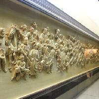 东阳木雕介绍之平面浮雕手法