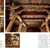 东阳马上桥花厅的木雕