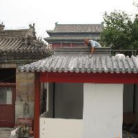 古建屋顶仿古瓦施工方法