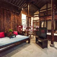 现代设计在仿古建筑中的应用